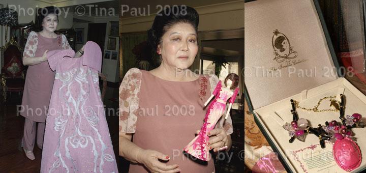 Imelda Marcos photographs by ©Tina Paul 2008